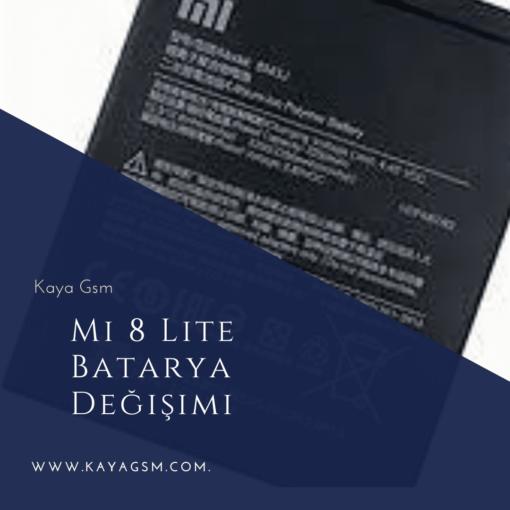 Xiaomi Mi 8 LiteBatarya Değişimi