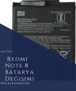 Redmi Note 8 Batarya Değişimi