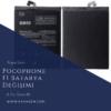Pocophone F1 Batarya Değişimi