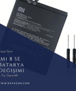Xiaomi Mi 8 SE Batarya Değişimi