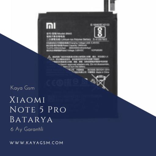 Xiaomi Note 5 ProBatarya Değişimi