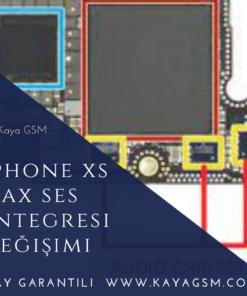 iPhone XS Max Ses Entegresi Değişimi