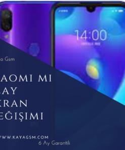 Xiaomi Mi Play Ekran Değişimi