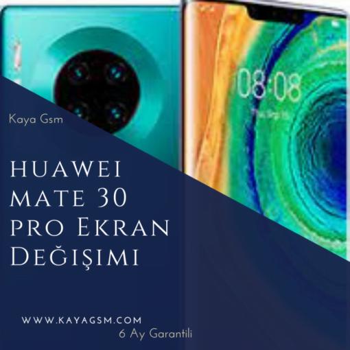 Huawei Mate 30 Pro Ekran Değişimi
