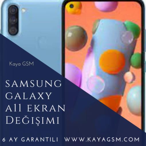 Samsung Galaxy A11 Ekran Değişimi