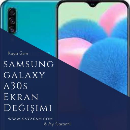 Samsung A30sekran değişimi