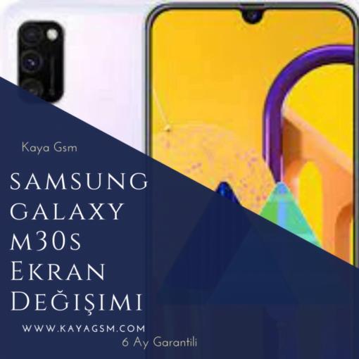 samsung m30s ekran değişimi