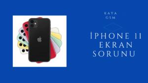 iPhone 11 Ekran Sorunu