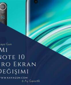 Xiaomi Redmi Note 10 Pro Max Ekran Değişimi