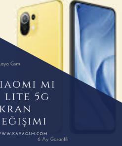 Xiaomi Mi 11 Lite 5G Ekran Değişimi