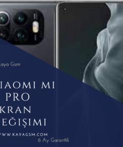 Xiaomi Mi 11 Pro Ekran Değişimi
