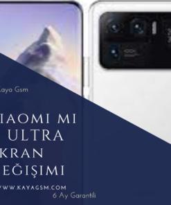 Xiaomi Mi 11 Ultra EkranDeğişimi