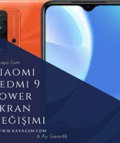 Xiaomi Redmi 9 Power Ekran Değişimi