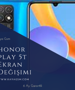 Honor Play 5T Ekran Değişimi