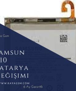Samsung A10 Batarya Değişimi