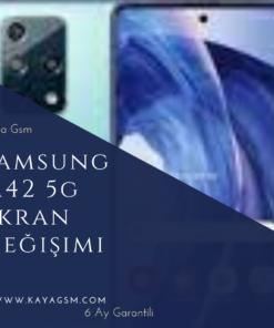 Samsung M42 5G Ekran Değişimi