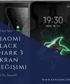 Black Shark 3 ekran değişimi