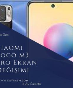 Xiaomi Poco M3 Pro Ekran Değişimi