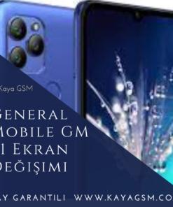 General Mobile GM 21 Ekran Değişimi
