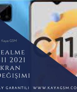 Realme C11 2021 Ekran Değişimi