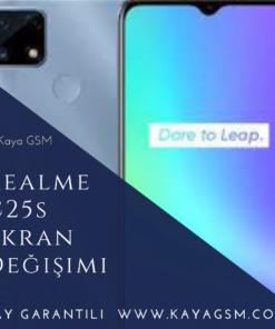 Realme C25s Ekran Değişimi