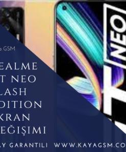 Realme GT Neo Flash Edition Ekran Değişimi