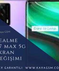 Realme X7 Max 5G Ekran Değişimi