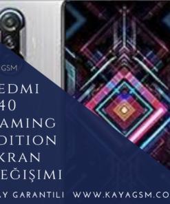 Redmi K40 Gaming Edition Ekran Değişimi