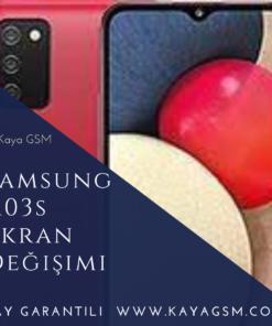 Samsung A03s Ekran Değişimi