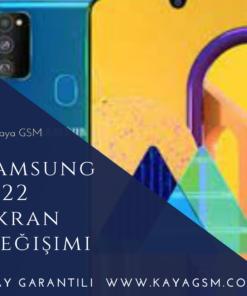 Samsung M22 Ekran Değişimi