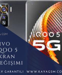 Vivo İQOO 5 Ekran Değişimi