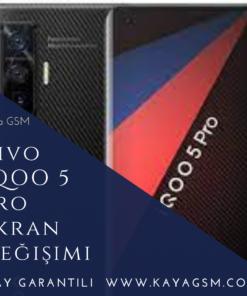 Vivo İQOO 5 Pro Ekran Değişimi