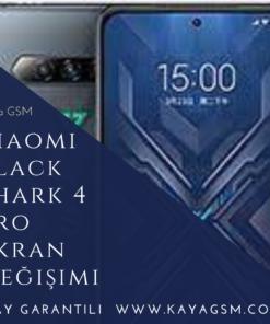 Xiaomi Black Shark 4 Pro Ekran Değişimi