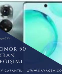 Honor 50 Ekran Değişimi
