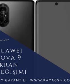 Huawei Nova 9 Ekran Değişimi