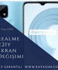 Realme C21Y Ekran Değişimi