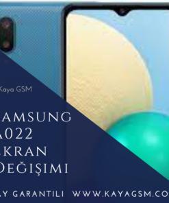 Samsung A022 Ekran Değişimi