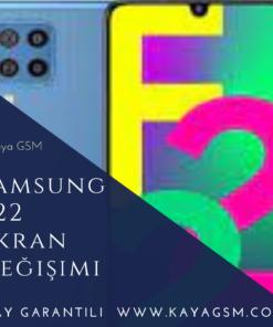 Samsung F22 Ekran Değişimi
