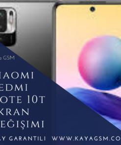 Xiaomi Redmi Note 10T Ekran Değişimi